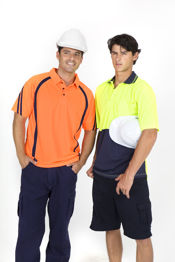 Hi Vis Sleeve Polo